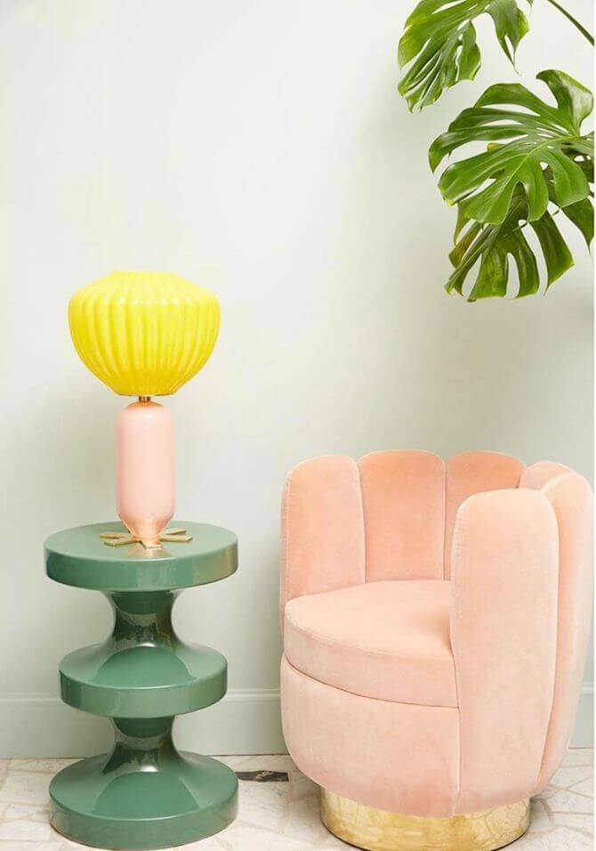 meuble sculptural esprit totem - Tendances meubles et décoration 2021 : le grand décryptage