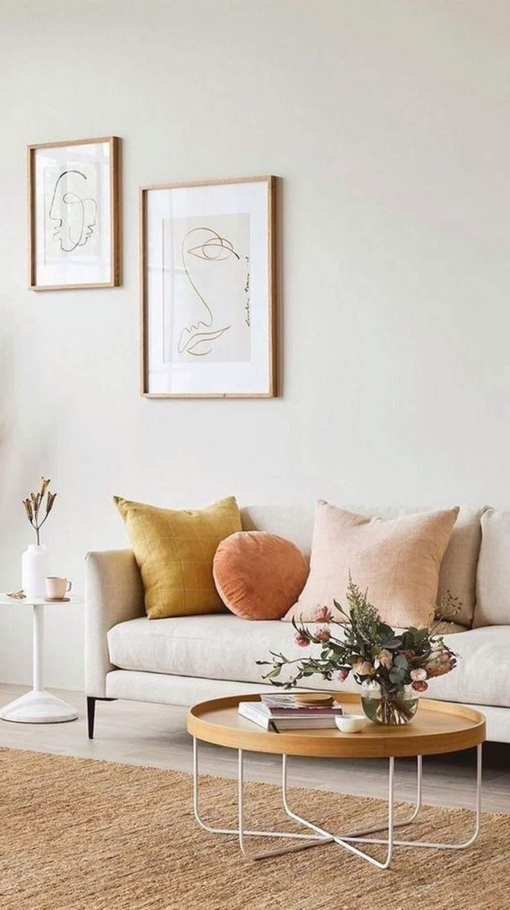 mobilier rond deco couleurs nudes 1148x2048 - Tendances meubles et décoration 2021 : le grand décryptage