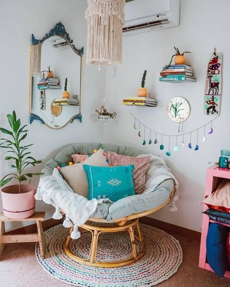 Plus de 20 idees de decoration de salle de lecture pour vous rendre confortable - Inspiration déco : 16 façons d'embellir les murs du salon