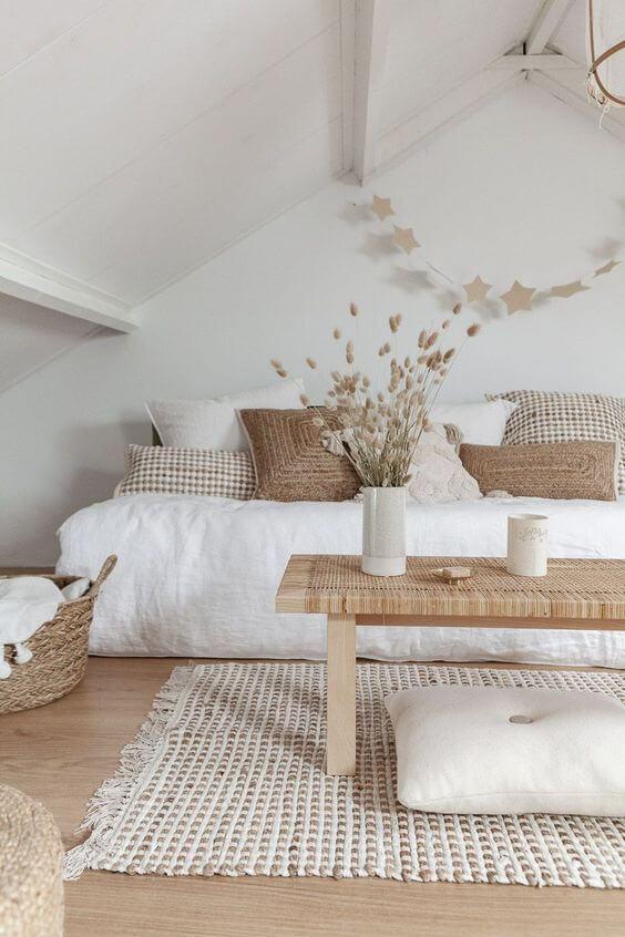 salon scandinave monochrome - Inspiration déco : 16 façons d'embellir les murs du salon