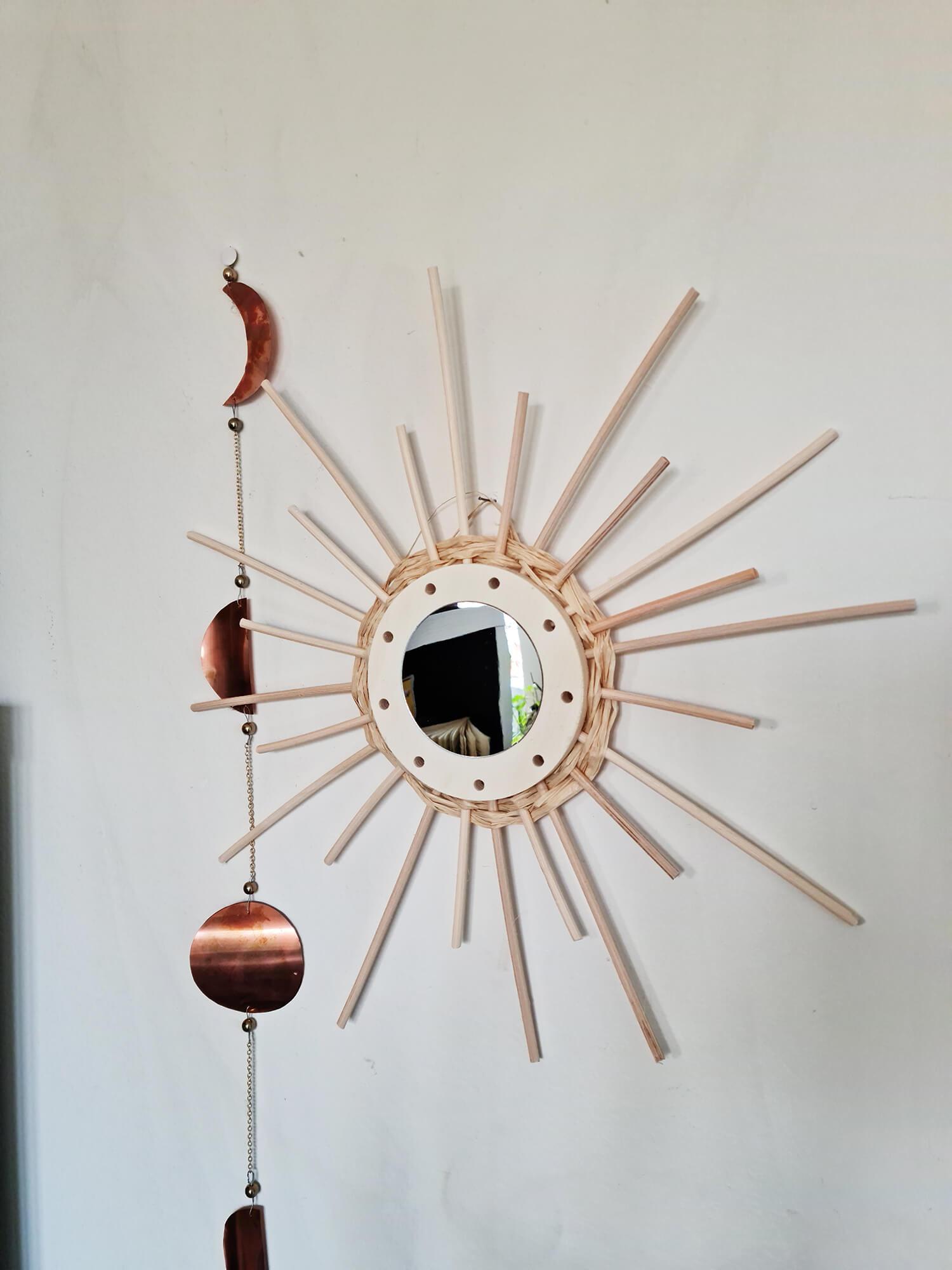 20210319 160629 - DIY déco : donner vie à des miroirs en rotin