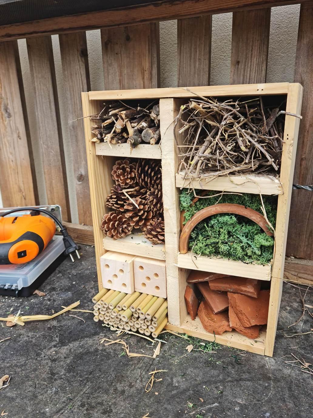 20210520 173148 - DIY jardin : construire un hôtel à insectes avec une caisse à vin