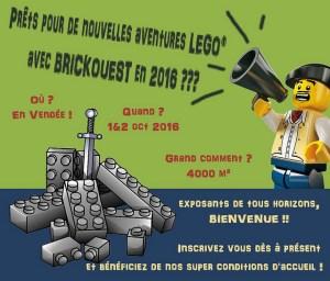 Exposition 100% LEGO® Les Herbiers @ Parc des Expositions de la Gare - LES HERBIERS
