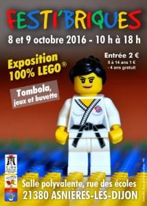 Festi'briques Asnières-Lès-Dijon 2016 - Exposition 100% LEGO® @ Salle Polyvalente à Asnières-Lès-Dijon