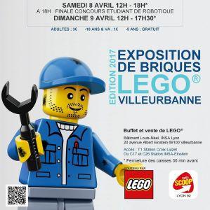 Briqu'Convention Villeurbanne 2017 @ Locaux de l'INSA - Villeurbanne