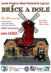 Brick à Dole 2017 - Exposition 100% LEGO® @ Complexe Sportif Mont Roland - Dole