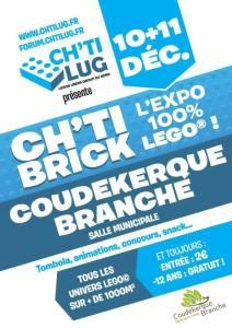 Chti Brick Coudekerque-Branche - Exposition 100% LEGO® @ Salle Municipale Delvallez de Coudekerque-Branche
