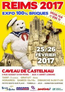 Brick en Bulles - Exposition 100% LEGO® @ Caveau de Castelnau - Reims