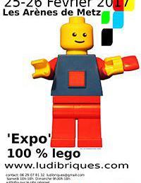 Exposition 100% LEGO® @ Les Arènes - Metz