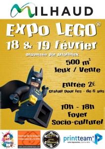 Exposition 100% LEGO® @ Foyer socio-culturel à Milhaud
