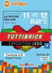 Exposition 100% LEGO® @ Salle Polyvalente La Ruche à Saucats