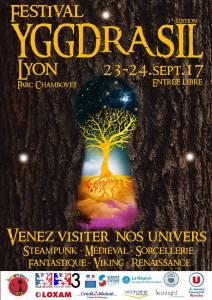 Festival Yggdrasil Lyon 2017 @ Parc Chambovet