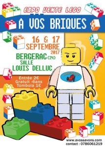 Exposition Vente LEGO® @ Salle Louis Delluc - Bergerac