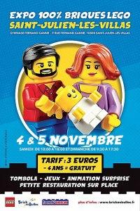 Brick en Bulles - Exposition 100% LEGO® @ Gymnase Fernand Ganne - St Julien les Villas