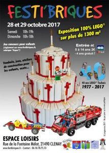 FestiBriques - Exposition 100% LEGO® @ Espace Loisirs - Clénay