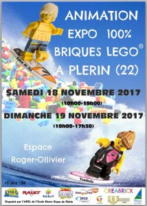 Exposition 100% LEGO® @ Espace Roger Ollivier - Plerin