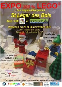 Exposition 100% LEGO @ Complexe de la Coudre - St Léger des Bois