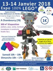 Exposition 100% LEGO® @ Centre commercial Les Vergers de La Plaine - Chambourcy