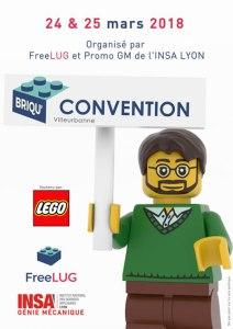 Exposition 100% LEGO® @ INSA de LYON Campus de la DOUA à Villeurbanne