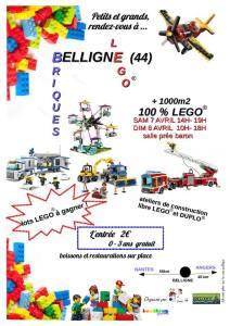 Exposition 100% LEGO® @ Salle de la Prée Baron - Belligné (44)