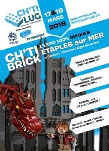 Exposition 100% LEGO® Ch'ti Brick Etaples 2018 @ Salle de la corderie - Etaples sur Mer