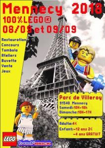 Exposition 100% LEGO® Mennecy 2018 @ Parc de Villeroy - Mennecy