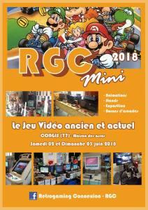 Rétrogaming Connexion RGC 2018 Mini @ Maison des Associations - Congis