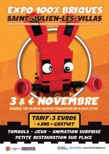 Exposition 100% LEGO® @ Gymnase Fernand Ganne - Saint-Julien-les-Villas