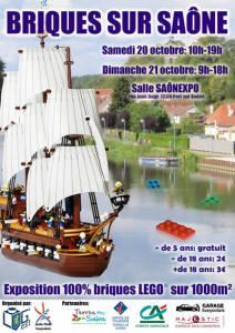 Exposition 100% LEGO® Briques sur Saône @ Salle Saône Expo - Port sur Saône