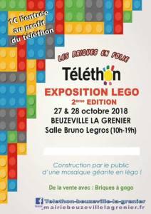Exposition 100% LEGO® @ Salle Bruno Legros - Beuzeville-la-Grenier