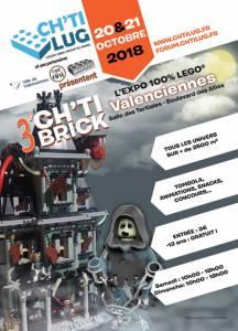 Exposition 100% LEGO® Ch'ti Brick Valenciennes @ Salle des Tertiales - Valenciennes