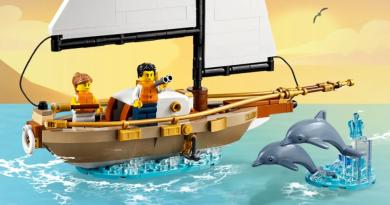 Les Bons Plans LEGO: L'ensemble Voilier IDEAS OFFERT