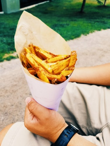 Duckfat Belgian-style fries