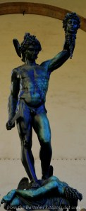 """Perseus with the Head of Medusa"" by Cellini"