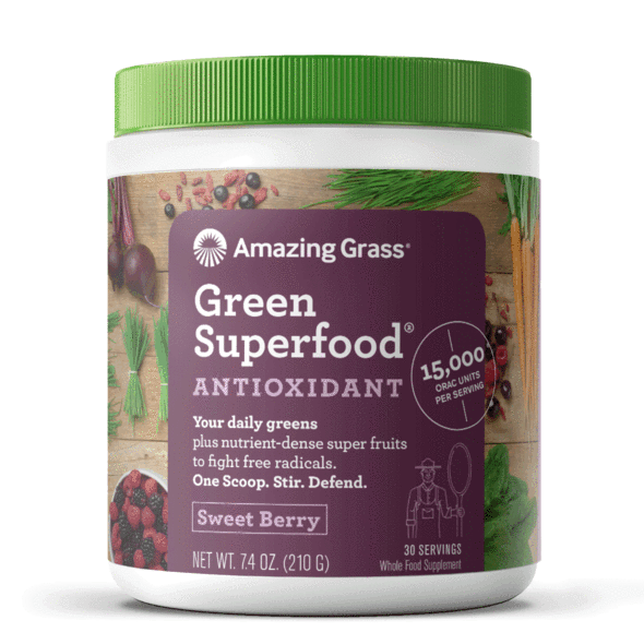 Amazing Grass GreenSuperfood Antioxidant (Sweet Berry Flavor)
