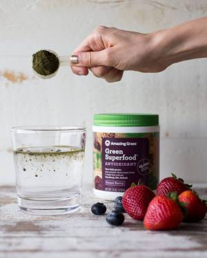 BOT RAU CU GREEN SUPERFOOD