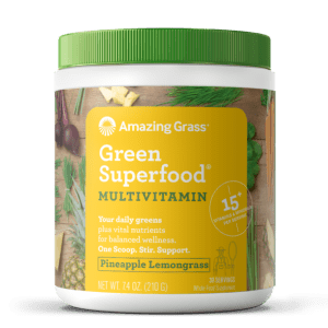 Amazing Grass GreenSuperfood Pineapple Lemongrass