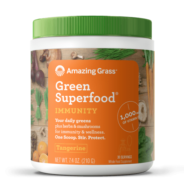 Amazing Grass Superfood Immunity vị Tangerine