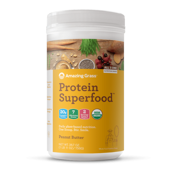 Amazing Grass Protein Superfood Peanut Butter