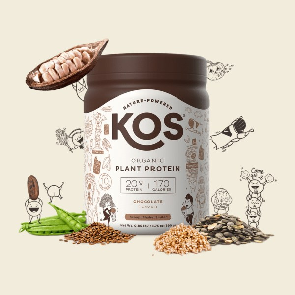 KOS Organic Plant Protein vị Chocolate