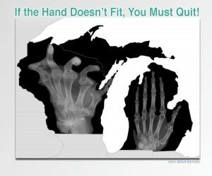 xray of michigan and wisconsin