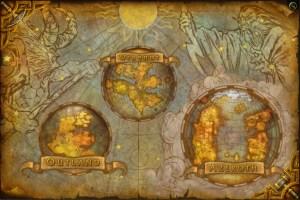 draenor world map