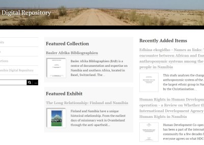 The Namibian Digital Repository