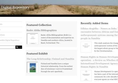The Namibian Digital Repository