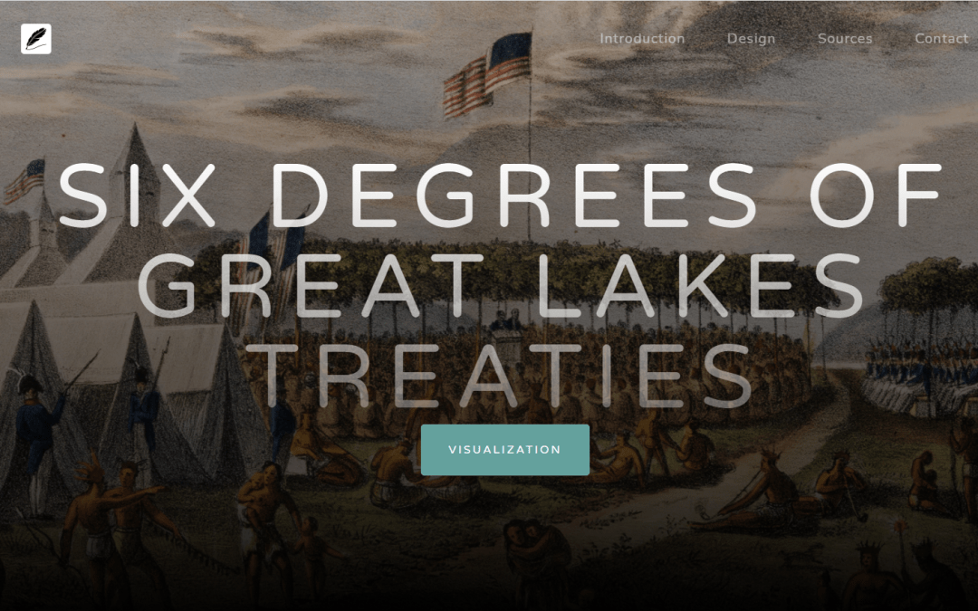 Launching Six Degrees of Great Lakes Treaties
