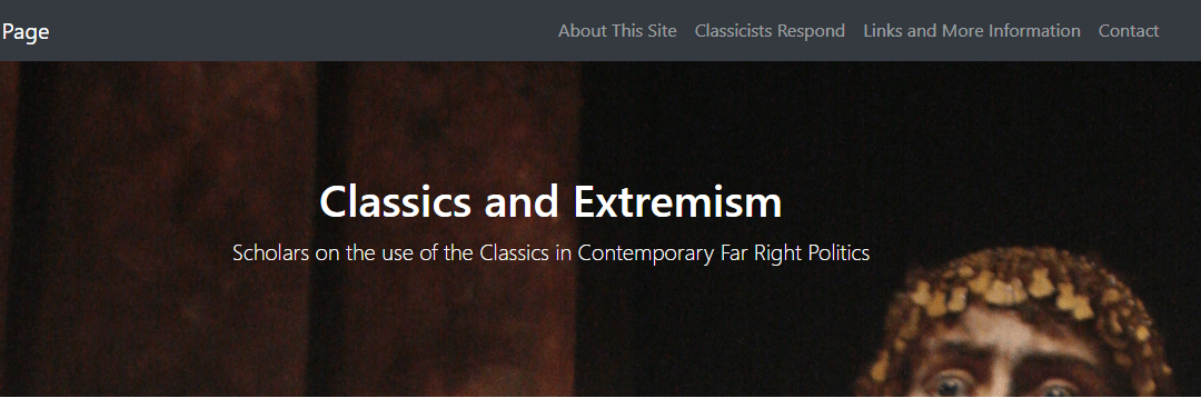 "Introducing ""Classical Reception in Contemporary Far-Right Politics"""