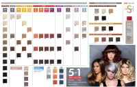 chi ionic hair color chart chi hair color swatches images