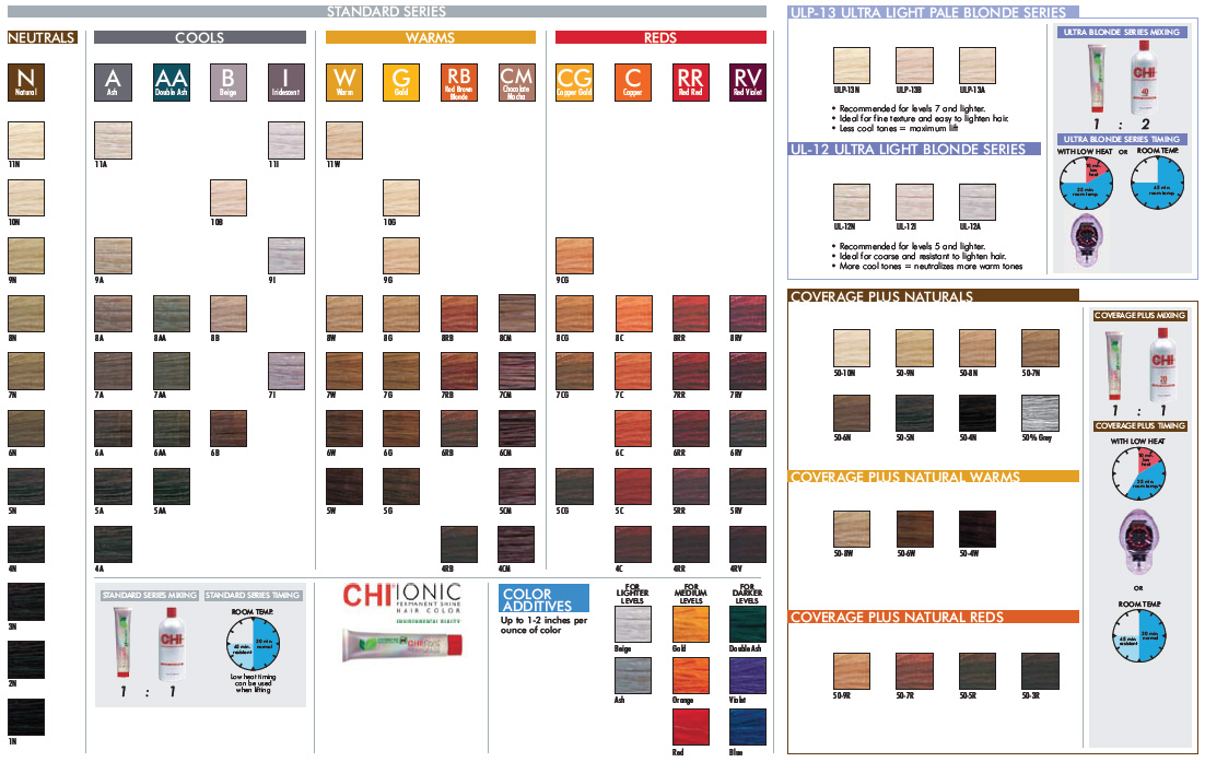 CHI Ionic Permanent Shine Hair Color