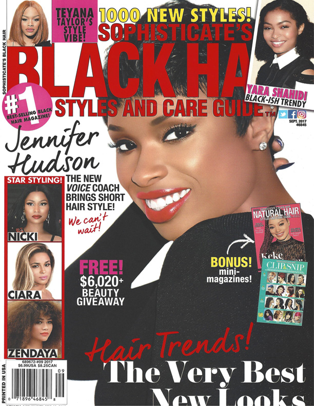 Sophisticates Black Hairstyle  Features the CHI Deep Brilliance Blow