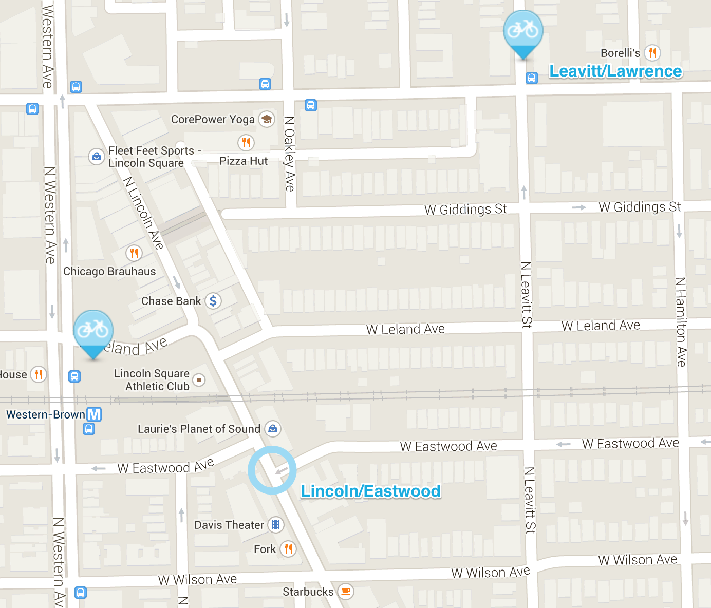 Why Did Divvy Stations Dance Around River West, Lincoln